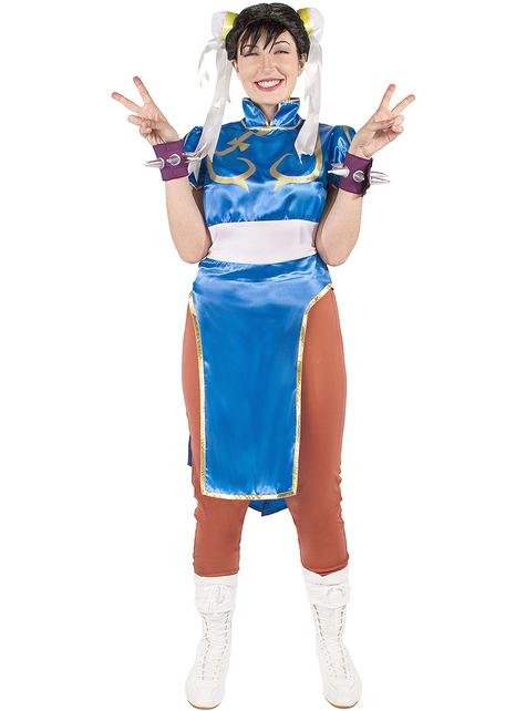 Chun-Li Costume Plus Size - Street Fighter