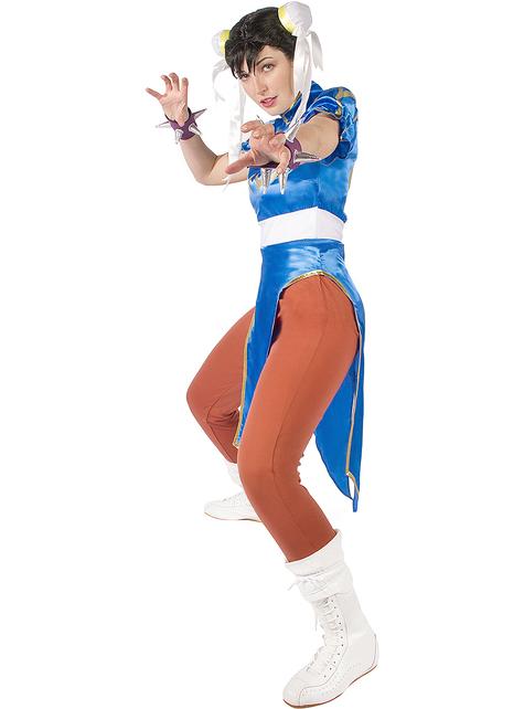 Disfraz de Chun-Li talla grande - Street Fighter