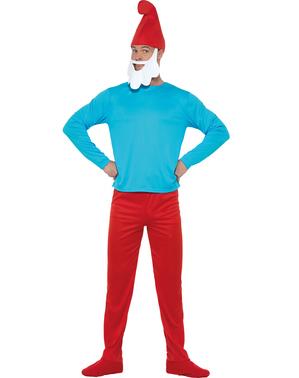 Papa Schlumpf Kostüm große Größe