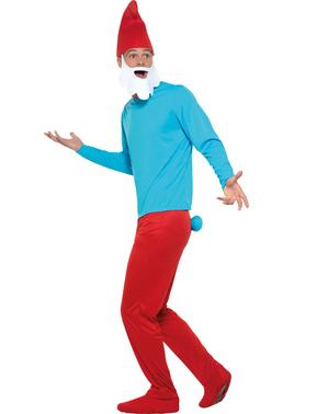 Papa Smurf Kostum plus saiz