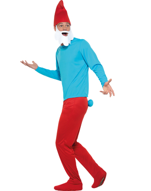 Gammelsmølf plus size kostume