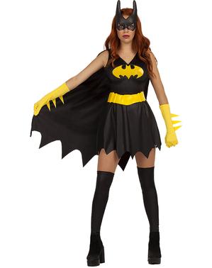 Batgirl plus size kostume til kvinder