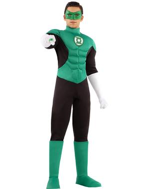 Grote maat Green Lantarn kostuum voor mannen