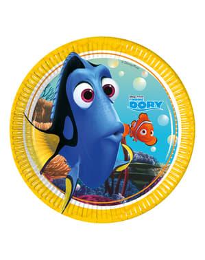 8 platos buscando a Dory (20 cm)