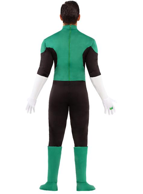 Vihreä Lyhty plus size asu miehille