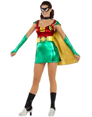 Grote maat Robin kostuum voor dames