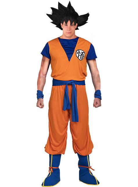 Goku Kostüm große Größe - Dragon Ball