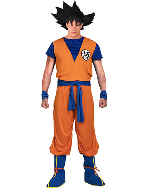 Costume da Goku taglie forti - Dragon Ball