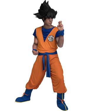 Kostým Goku plusová veľkosť - Street Fighter