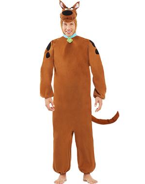 Costume Scooby Doo per adulto taglie forti