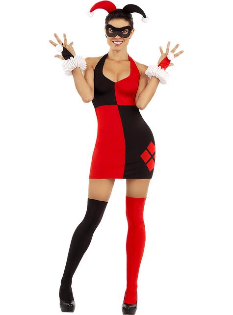 Vestido de Harley Quinn talla grande