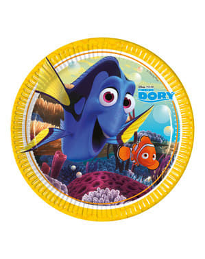8 Finding Dory Plates (23 cm)