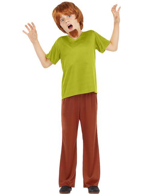 Fato de Shaggy para menino - Scooby Doo