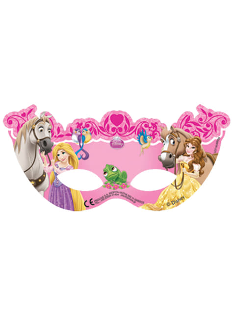 Set de 6 caretas Princess & Animals