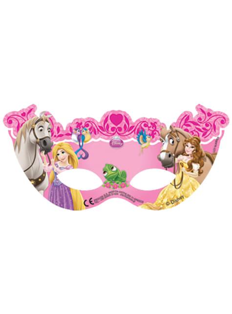 Set de 6 caretas Princess & Animals