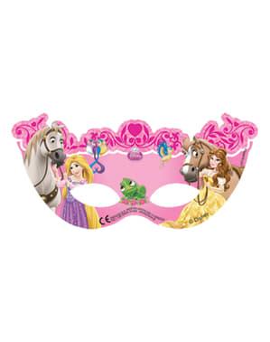 6 hercegnő és állat maszkok halmaza