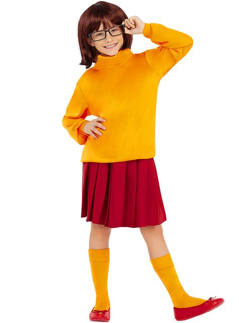 Στολή Velma για Κορίτσια - Scooby Doo