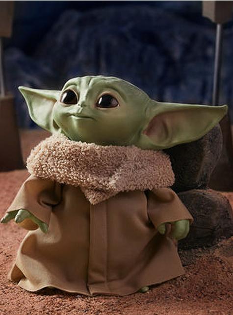 Baby Yoda Plüschtier mit Sound - The Mandalorian Star Wars