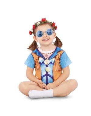 Disfraz de Hippie para bebé unisex