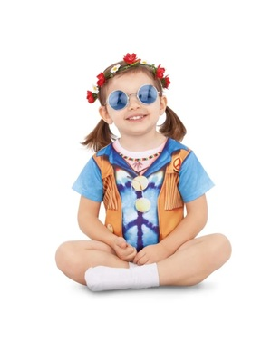 Hippie Costume for Babies Unisex
