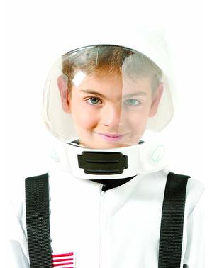 Astronautská přilba bílá