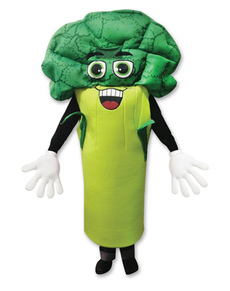 Disfraz de brócoli para adulto