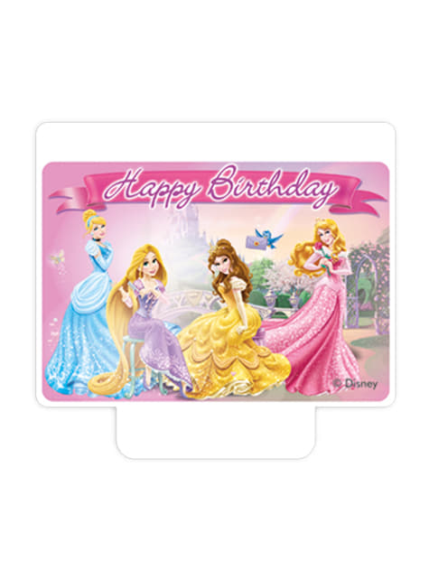 Vela Happy Birthday Princess & Animals