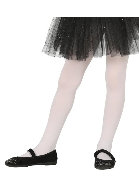 Kids's white tights