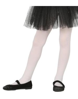 Hvite tights for barn
