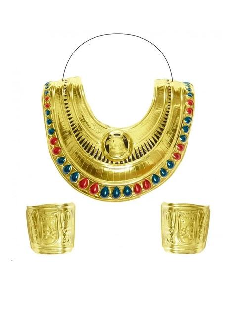 Єгипетські комір та браслети