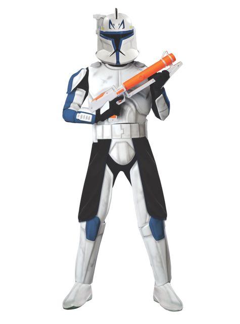 Fato de Clone Trooper Rex Deluxe adulto