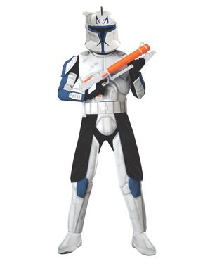 Deluxe Clone Trooper Rex Adult Costume
