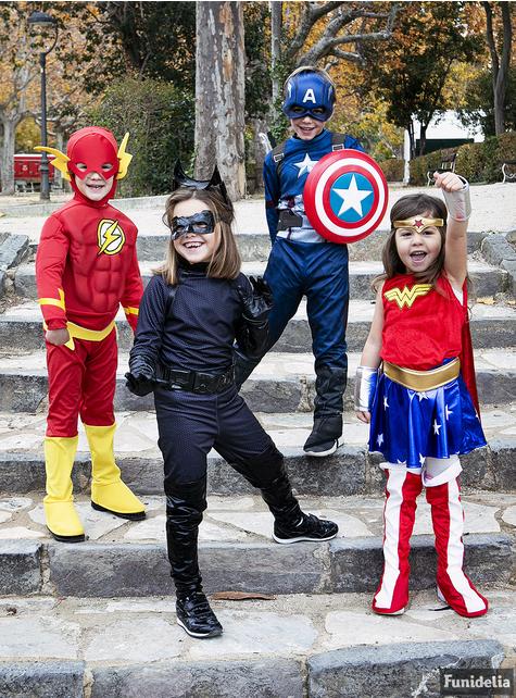 Wonder Woman Classic Maskeraddräkt Barn