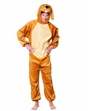 Glad hund kostume til voksne