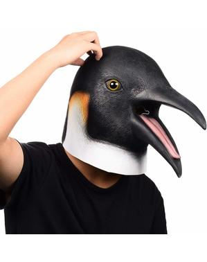 Penguin mask for adults