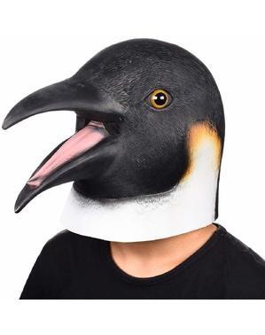 Máscara de pingüino para adulto