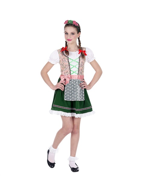 Disfraz de bávara Oktoberfest para niña