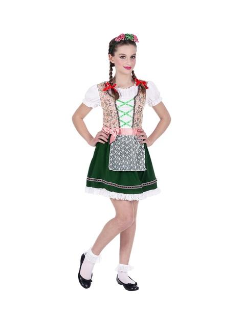 Fato de bávara Oktoberfest para menina
