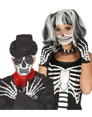Skelett Handschuhe