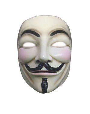 Mască V de la Vendetta deluxe