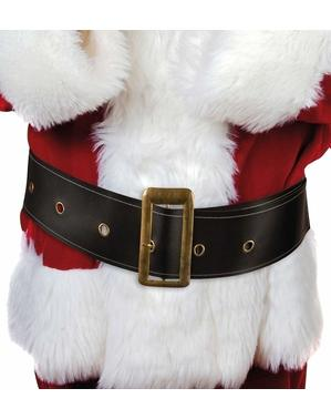 Bredt julemandsbælte til mænd