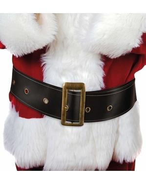 Cinturón de Papá Noel ancho para hombre