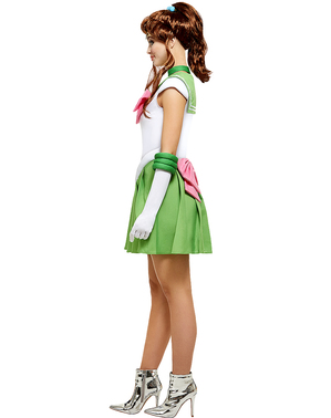 Sailor Jupiter Maskeraddräkt Plus Size - Sailor Moon