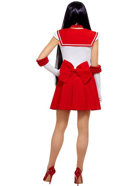 Sailor Mars kostyme ekstra stor - Sailor Moon