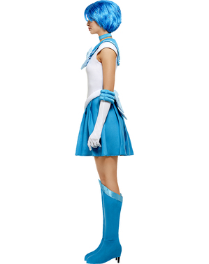 Sailor Mercury Maskeraddräkt - Sailor Moon