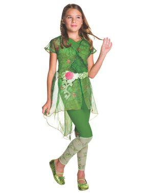 Deluxe Poison Ivy Kostyme Jente