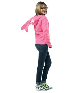 Jachetă cu iepuraș Povești de Crăciun pentru adult