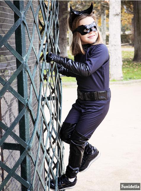 Costum Catwoman Pisica Neagra Deluxe