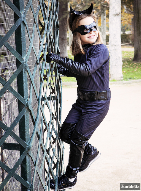 Deluxe Catwoman Kids Costume