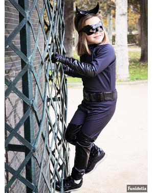 Catwoman Mädchenkostüm Deluxe
